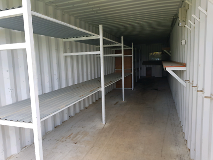 Workshop / 40' Shipping Container