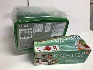 New pack 17pcs food storage container+soda fizz saver dispenser Strathfield Strathfield Area Preview