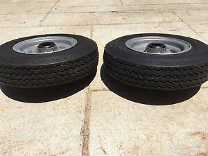 """Trailer Wheel Assembly 8"""", suit boat or small box trailer Port Macquarie Port Macquarie City Preview"""
