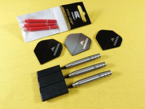 Colonial Silver Widow Steel Tip Darts - 21 Grams - 80% Tungsten