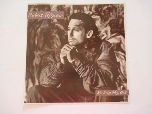 Robert Tepper No Easy Way Out LP Record Photo Flat 12X12 Poster