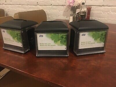 3 X Tork Xpressnap Napkin Dispenser Lot - Used Good Condition. Make Offer