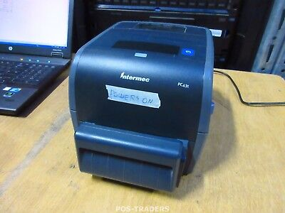 Intermec PC43T USB LAN 203DPI Thermo Thermal Label Drucker CUTTER - EXCL PSU