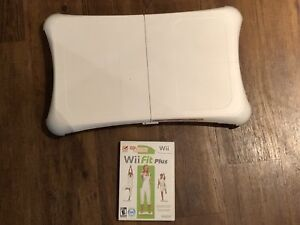 Wii Fit board & wii fit plus game