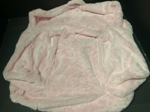 Pottery Barn Kids My First ANYWHERE Chair Slipcover COVER Pink FUR Toddler NEW