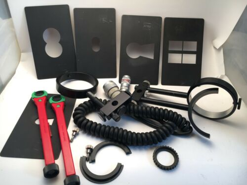 Vintage Film Camera Accessories for Arriflex 16bl  * Keyhole Mattes