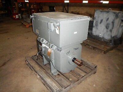 100 HP DC General Electric Motor, 850 RPM, 504AT Frame, TEUC, 500 V