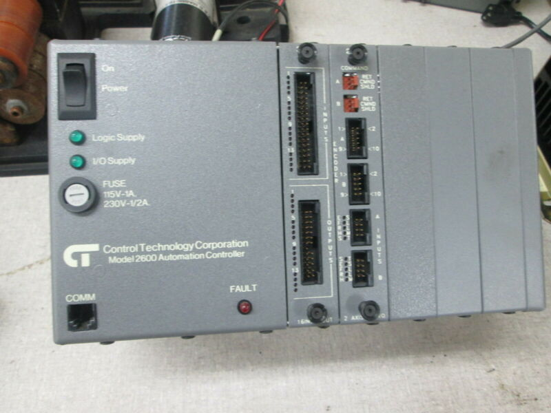 Control Technology Corp Model 2600 115/230 Volt 1Ph Automation Controller