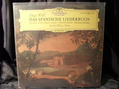 Hugo Wolf - Das Spanische Liederbuch / Schwarzkopf/Fischer-Dieskau   2 LPs