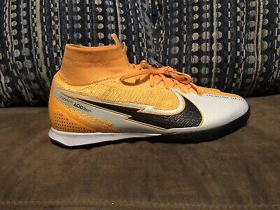 Nike Mens Mercurial Superfly 7 Elite IC Indoor Soccer Orange AT7982 801 Size 7