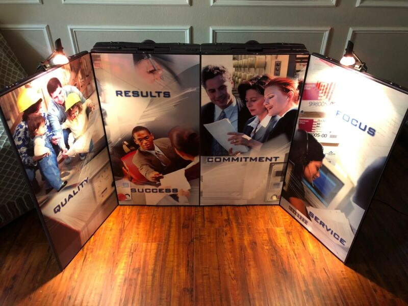 Showmax Portable Table Top Display Board