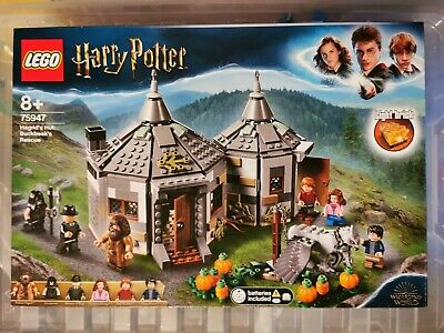 LEGO Harry Potter Hagrid's Hut Hippogriff Rescue Set 75947 brand new