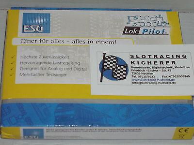 ESU Lokpilot micro V4.0  Decoder verschiedene Varianten MM/DCC/SX 6.-,8.-pol Sch online kaufen