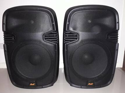 """AVE Thunder 15-A Powered Speakers (Pair) & 18"""" Subwoofer"""