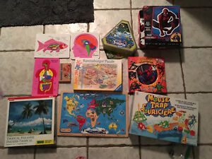 Board Games, Toys and puzzles prices vary