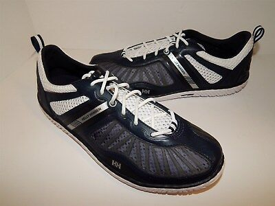 New Helly Hansen Black Nylon Mesh Canvas Sneakers 8 M