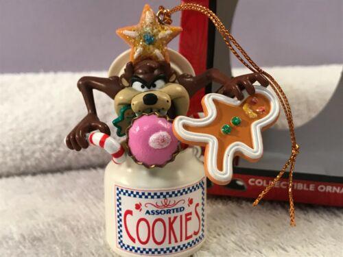 Christmas ornament Looney Tunes Tasmanian devil in cookie jar EX6832