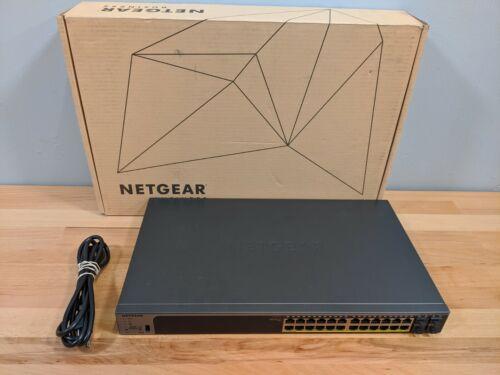 NetGear 24Port GE POE+ (GS728TPPv2-100NAS) Switch V2