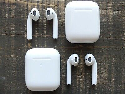 Apple AirPods 2nd Generation - Left, Right or Charging Case Box Replacement Only