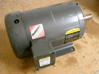 Baldor Ac Motor M3614t 2hp 1200rpm 208-230460v 7.6-73.5a 60hz 3ph Used