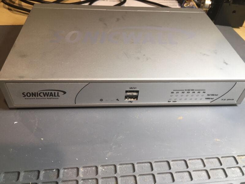 SonicWall TZ215 Firewall Appliance