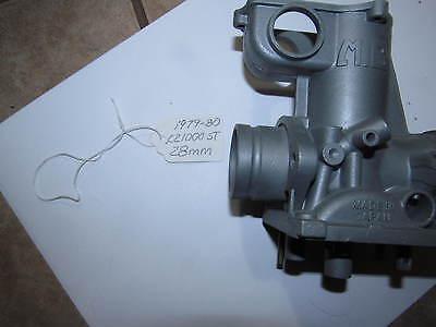 Mikuni KZ 1000 Mikuni 28mm KZ1000ST 1979-1980 Shaft Drive  Pumper 102 2 Stamp #1