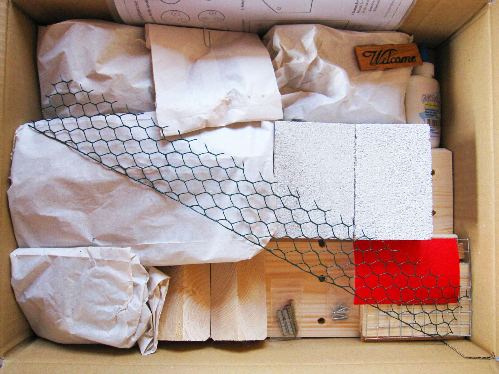 insektenhotel bausatz selber bauen landsitz insektenhaus. Black Bedroom Furniture Sets. Home Design Ideas