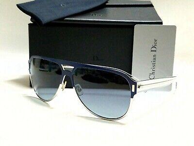 CHRISTIAN DIOR Titanium Sunglasses BLACK TIE 2.0S D HERHD Blue Palladium Grey