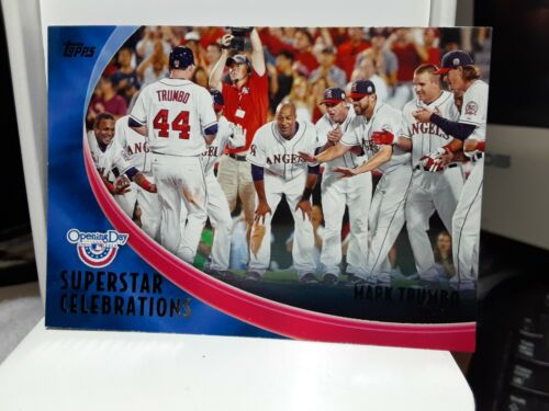 2012 Topps Opening Day Superstar Celebrations 9 Card Lot Mike Trout SC19  - $4.99