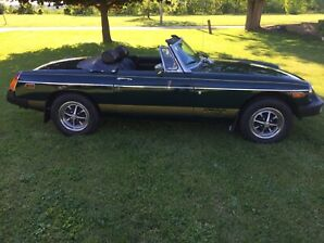 1975 MGB 50th Anniversary Edition