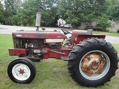 444 International Diesel Power Steering Tractor