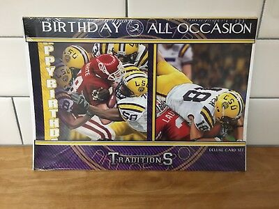 Lot of 3 LSU Tigers Birthday/All Occasion Invitations by GregGamble 18 card set