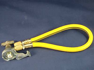 R12 R22 FREEZE 12 REFRIGERANT RECHARGE CAN TAP TAPPER HOSE KIT  for sale  Loretto