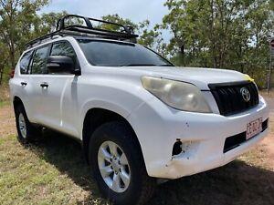 2012 Toyota Land Cruiser PRADO GX (4x4) Winnellie Darwin City Preview