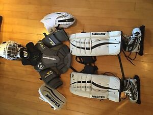 Équipement de gardien de but enfant junior/Kid goalie equipment