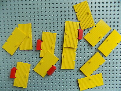 12 Lego Yellow Door 1 x 4 x 6 vintage sets combine shipping to save