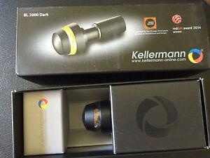 Kellermann BL 2000 Dark schwarz  Lenkerendenblinker für vorne 110.200