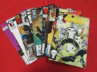 BACKSTOCK BLOW OUT - PUNISHER LOT OF 10 ALL DIFFERENT COMICS