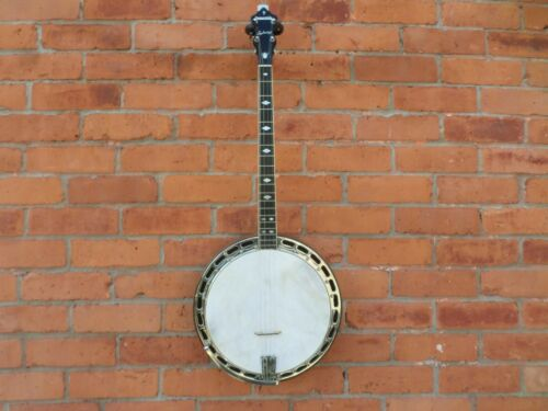 Ludwig Kingston Tenor Banjo w/old hard case