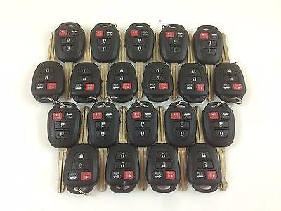 LOT OF 20 TOYOTA CAMRY 14-17 KEY LESS ENTRY REMOTE H-CHIP 8A OEM USA SEDAN CAR