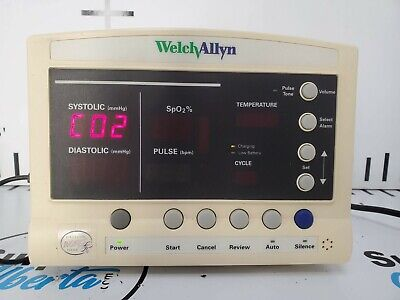 Welch Allyn 52000 Series Vital Signs Monitor With Power Cable