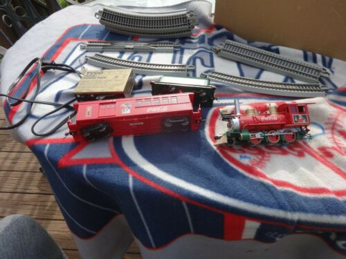 COLLECTOR ITEM! Hawthorne Village Coca Cola Express Train Set