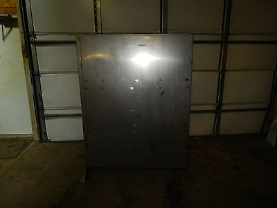 Stainless Steel Enclosure Panel With Feet 60x48x12