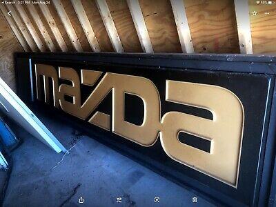 Industrial Mazda Sign