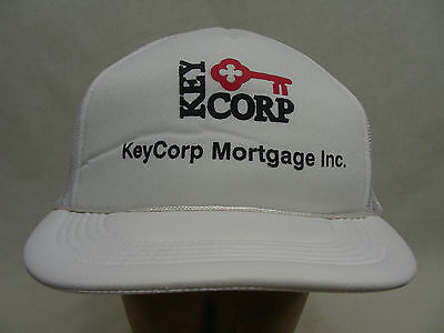 Keycorp Mortgage   Trucker Style Adjustable Snapback Ball Cap Hat   Key Bank