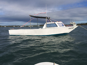 V8 Fishing Cruising 8 mtr Jet powered with Mooring in Westernport Upper Ferntree Gully Knox Area Preview