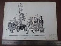 Death Of A Theatre Critic . Pen & Ink Orig 20thc Illus,bill Hewison, Art Editor -  - ebay.co.uk