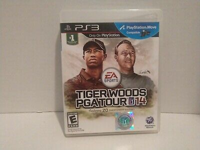 Tiger Woods PGA Tour 14. PS3. Complete, tested and working. Disc is perfect