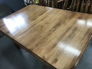 Solid Birch Dining Room Table