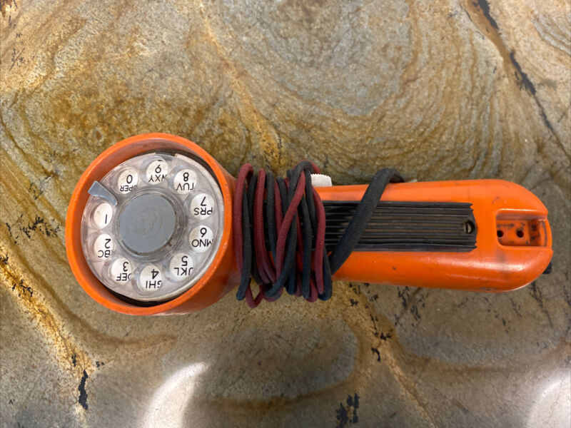 """Vintage Rotary Dial """"GTE Automatic Electric"""" Lineman"""